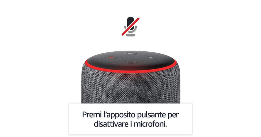 Svantaggi Amazon Echo