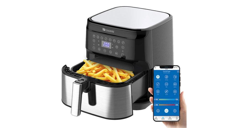 Friggitrice compatibile con Alexa e Google Home
