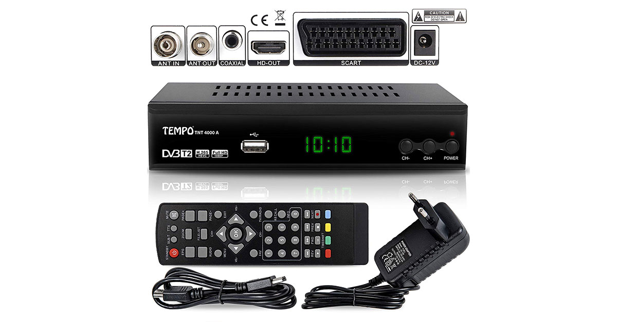 Decoder TV per il nuovo digitale terrestre, decoder Tv Dvb-T2