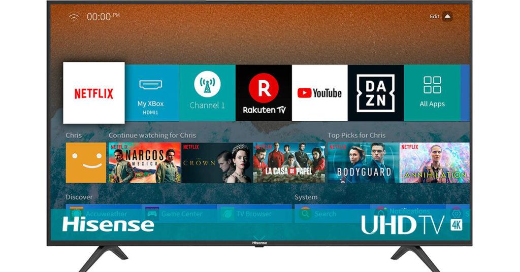 smart tv 43 pollici
