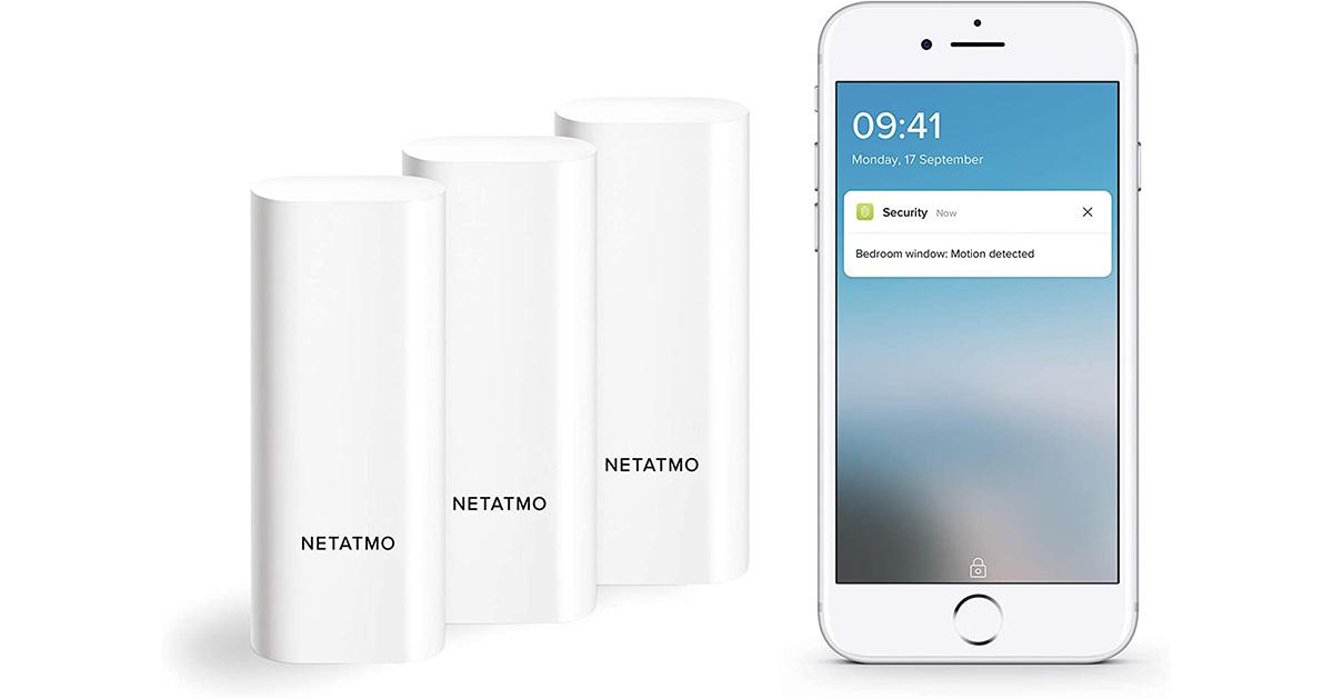Netatmo Sensori smart Wifi per Porte e Finestre