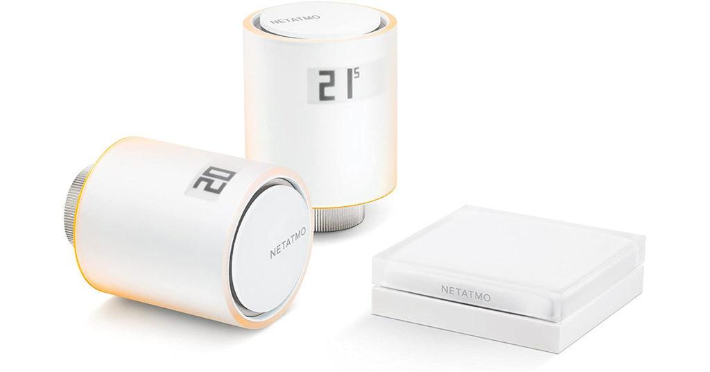 Netatmo Starter Pack Valvole Termostatiche Wifi