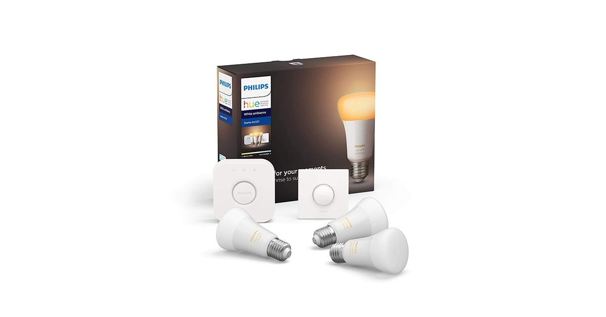 Philips Lighting Hue Kit recensione