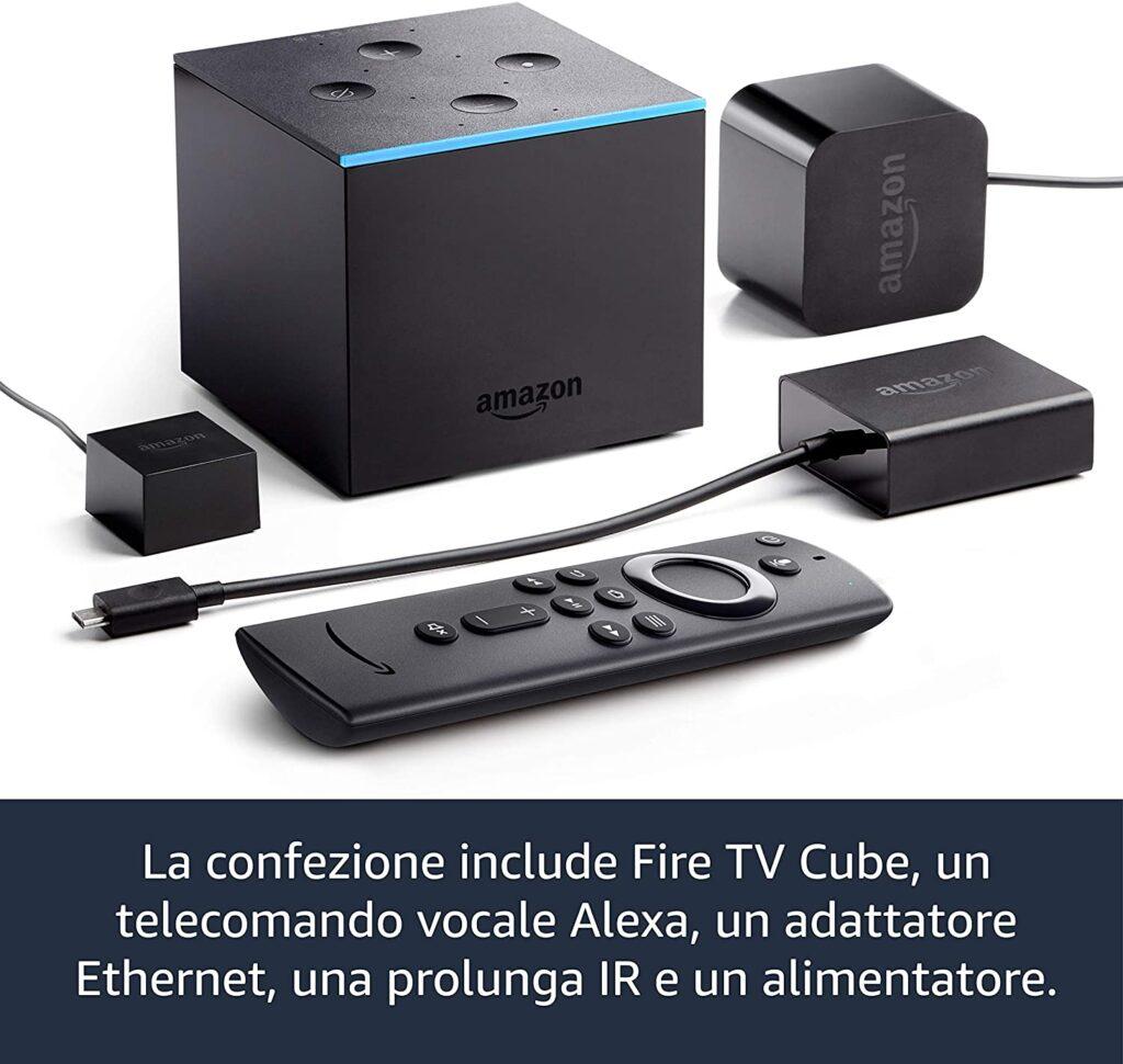 Caratteristiche Fire tv cube