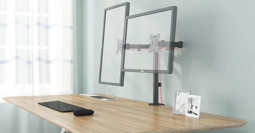 Aste regolabili per monitor PC