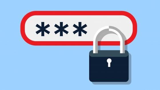 password blocco